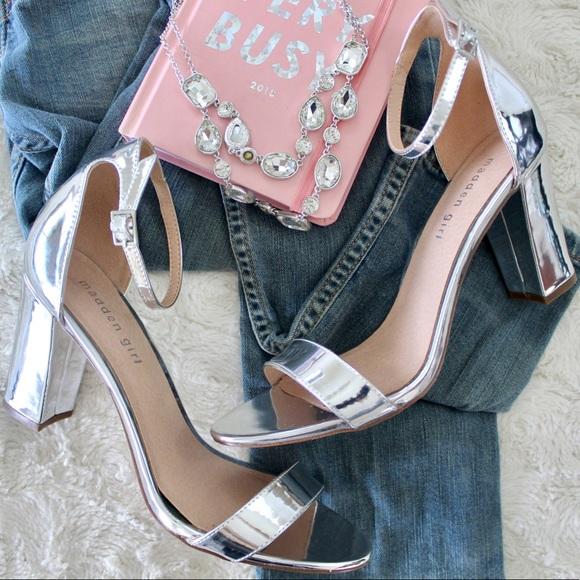 Madden Girl Bella Metallic Heels